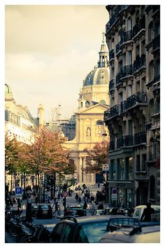 View on The Sorbonne Univeristy, 3 Rue de Vaugirard, Paris V