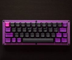 Thoughts on this setup? JD40 with custom dyed DSA caps. Credit to u/jb1830