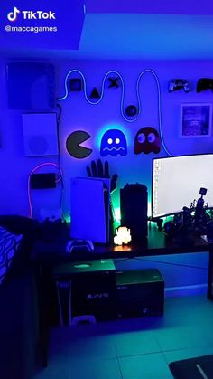 Check out this setup!!! 🔥 Dope or nope? 🤔 Comment down below ⬇️ Via 🎥 Tiktok u/maccagames Check out gamingapt300.com for accessories, decor, and posters for your gaming room!  #gamer #gaming #ps4 #gamerguy #xbox #videogames #xboxone #game #gamers #girlgamer #instagamer #games #onlinegaming #playstation #gaminglife #twitch #pc #nintendo #gamerlife #videogameaddict #nerd #gamingmemes #gamergirls #overwatch #geek #gamersunite #twitchtv #gamingcommunity #instagame #instagood Rgb Led Strip Lights, Led Light Strips, Strip Lighting, Rgb Red, Game Room Design, Game Room Decor, 12v Led, Can Lights, Playing Games