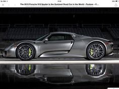 Not usually a huge Porche fan...but I will take the 918