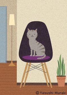 Yasushi Muraki Japanese illustrator https://www.behance.net/yyasum3838 http://melon33.jimdo.com/g-a-l-l-e-r-y/