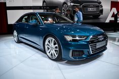 2018 Geneva Motor Show: Live Photos of the Audi A6 - http://www.quattrodaily.com/2018-geneva-motor-show-live-photos-of-the-audi-a6/