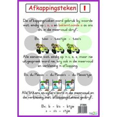 Besitlike Voornaamwoorde Colourful high quality posters making learning more fun! Also great for enhancing the learning environment. Available in Afrikaans only English Phrases, English Grammar, Teaching English, Afrikaans Language, School Worksheets, Writing Words, Classroom Posters, Teacher Quotes, English Lessons