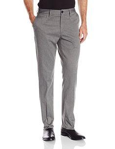 Quiksilver Mens Union Heather 32 Non-Denim Pants, Dark Charcoal, 31