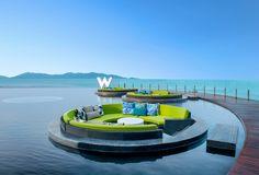 Hotel W Retreat Koh Samui, Tailandia Ko Samui, Koh Samui Thailand, Hotel W, Hotel Pool, Bangkok, Piscina Do Hotel, Les Seychelles, Best Honeymoon, Exterior