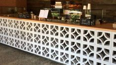 The return of the Mid-century breeze block – Breeze Blocks Pub Design, House Design, Breeze Block Wall, Outdoor Bbq Kitchen, Front Courtyard, Block Table, Entry Way Design, Modern Bungalow, Home Landscaping