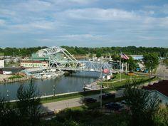 "ashtabula harbor ohio   Ashtabula, OH : The ""Lift Bridge"" - Ashtabula Harbor"