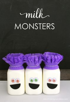 Monster Milk Contain