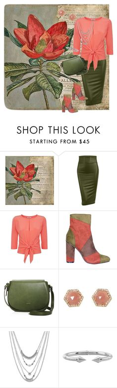 """""""Out For Lunch"""" by jeanstapley ❤ liked on Polyvore featuring WALL, LE3NO, Dorothee Schumacher, Luna Skye, Lucky Brand and Vita Fede"""