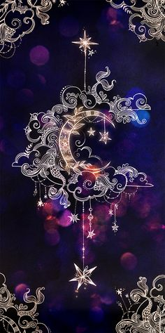 crescent moon, mandala drawings, backgrounds for girls, purple background Moon Art, Galaxy Wallpaper, Stars And Moon, Wallpaper, Wallpaper Backgrounds, Pretty Wallpapers, Art, Phone Wallpaper, Art Wallpaper