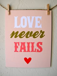 love never fails - for a wall collage - Cute Quotes Marriage Relationship, Love And Marriage, Gods Love, My Love, Sunday Inspiration, Love Never Fails, Finding True Love, Love Deeply, God Loves You