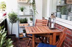 まるでカフェ♡ベランダを【DIY】でオシャレなインテリア空間に♪お手本コーデまとめ | ギャザリー