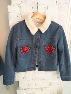 Denim Rose Jacket