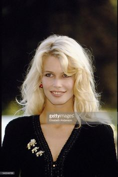 Claudia Schiffer (Photo by Elisabeth Andanson/Sygma via. Claudia Schiffer (Photo by Elisabeth… Poppy Delevingne, Claudia Schiffer, Diane Kruger, Jessica Alba, Blonde Actresses, Most Beautiful Models, Beautiful Women, Original Supermodels, German Women