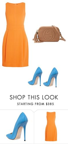 """n1"" by meaygul on Polyvore featuring мода, Jimmy Choo, Raoul и Gucci"