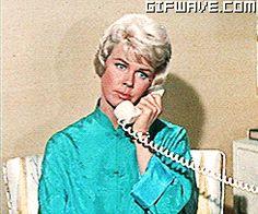 0 Hello  - doris day on the phone