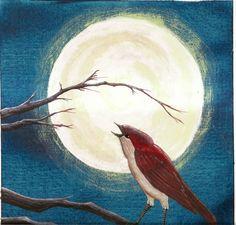 The emperor's nightingale by morbid-lizard.deviantart.com on @DeviantArt