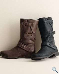 Eileen Fisher Motor Boots. I need a pair, you know, for the motorcycle