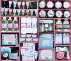Spa Party Invitation & Printable Birthday Party Collection For more ideas visit our website; www.thepartyguide.co.uk/