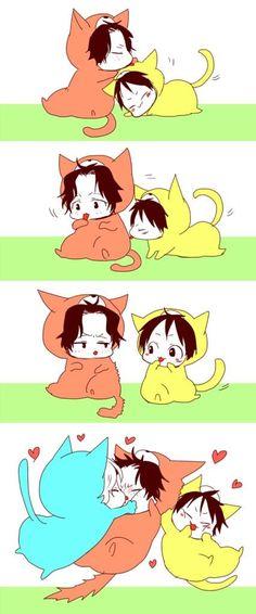 Ace & Luffy & Sabo