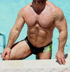 Muscle Bear Heartbreak In A Speedo