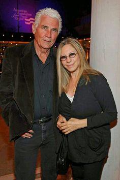 Barbra and her husband James Brolin.