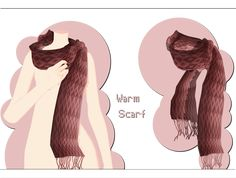 Warm Scarf DOWNLOAD by xkyarii