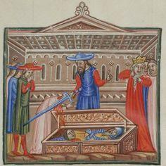 Guido de Columnis, Historia destructionis Troiae Cologny, Fondation Martin Bodmer, Cod. Bodmer 78 (http://www.e-codices.unifr.ch/fr/list/one/cb/0078)