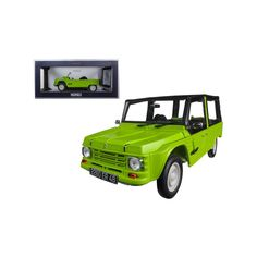 1983 Citroen Mehari Tibesti Green Diecast Model Car by Norev Rubber Tires, Diecast Model Cars, Green, Products, Beauty Products, Gadget