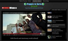 A collection of LDS-friendly travel videos about Brazil: the culture, food, wildlife, weather, history, etc.