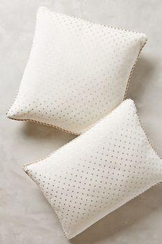 dotted velvet pillow #anthropologie #anthrofave