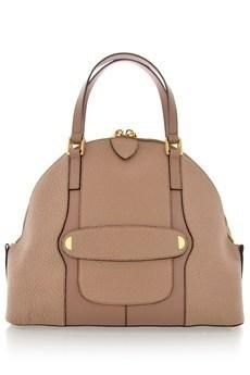 THE CROSBY Bowery Taupe Tote Bag