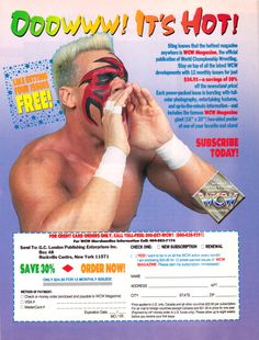 wcw Sting hot Sting Wcw, World Championship Wrestling, Old Advertisements, Boys Playing, Wwe Wrestlers, Ufc, Nebraska, The Man, Growing Up