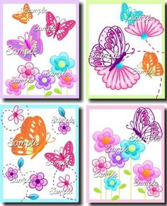 Perfect for a girl who loves purple, pink, & butterflies!!!