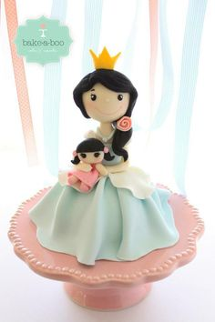 Lovely Princess topper, maybe to our next birthday cake, it has to be princess cake :)
