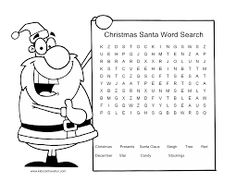 christmas worksheets - Buscar con Google