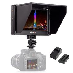 For Only $ 130.99 Viltrox 7'' DC-70II Clip-on HD LCD HDMI AV Input Camera Video Monitor Display+Battery+Charger for Canon Nikon DSLR BMPCC https://www.kingmarketplace.net/collections/consumer-electronics/products/viltrox-7-dc-70ii-clip-on-hd-lcd-hdmi-av-input-camera-video-monitor-display-battery-charger-for-canon-nikon-dslr-bmpcc