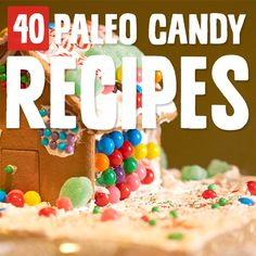 40 Paleo-i-fied Homemade Candy Recipes - - 40 Paleo-i-fied Homemade Candy Recipes Paleo Halloween Recipes I easily ignore the candy during check out of the grocery store with these perfectly Paleo candy recipes. Willpower is overrated. Paleo Sweets, Paleo Dessert, Delicious Desserts, Dessert Recipes, Keto Desserts, Yummy Food, Candy Recipes, Real Food Recipes, Food Tips