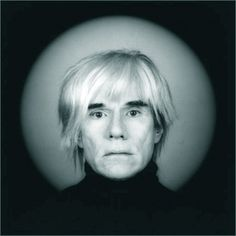 Andy Warhol by Robert Maplethorpe |Pinned from PinTo for iPad|