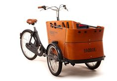 A Street Bike Named Desire-How cool is this cargo bike if you didn't want your child/infant on the seat or in a trailer?!