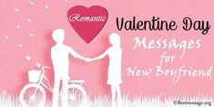 Happy Valentines Day Messages for New Boyfriend. romantic Valentine card messages, quotes and WhatsApp status wishes for boyfriend. Best Valentine Message, Valentine Wishes, Valentines Day Messages, Happy Valentines Day, New Boyfriend, Pick One, Greeting Cards, Romantic, Quotes