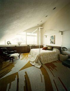 home of john lautner : interior design by darren brown