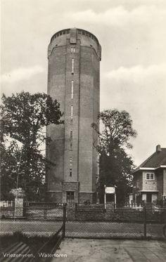 De Watertoren van Vriezenveen Vriezenveen Overijssel. Nederland.