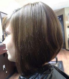 Hair cut and style by Angie at Natural Nails Columbia mo