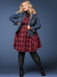 b6381223953 Distressed Denim Jacket - Medium Wash Stylish Plus Size Clothing