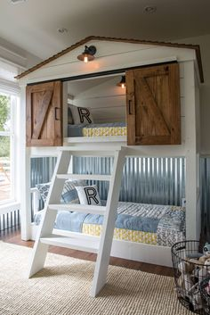 This is the ultimate bunkbed built for the Matsumoto family's little boy who loves adventure.