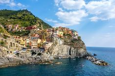 Manarola Village in Cinque Terre, Italy Amazing Places On Earth, Beautiful Places In The World, Beautiful Places To Visit, Cool Places To Visit, Places To Go, Cinque Terre, Travel Around The World, Around The Worlds, Visit Italy