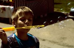 "Saatchi Art Artist Dan Lavric; Photography, ""The Bubble Boy II"" #art"