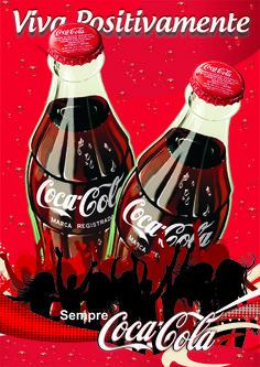 coca cola | Cartaz Coca – Cola | Priscila Cardoso