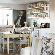 shabby-chic-kitchen design
